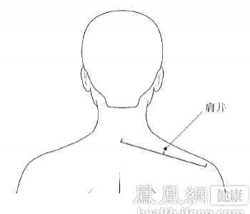 肩井穴 頸肩疼痛怎么按摩