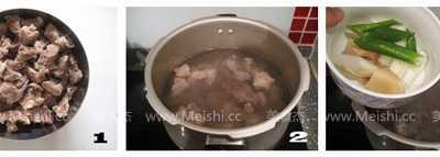 牛腩燉蘿卜 清燉白蘿卜牛腩湯的做法