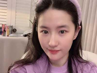 """劉亦菲騰訊微博 劉亦菲喜歡的""""木蘭""""紫"""