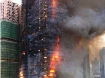 靜安火災 上海靜安區高層住宅大火